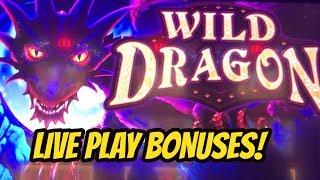 WILD DRAGON SLOT MACHINE BONUSES