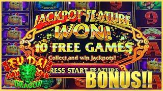 Fu Dai Lian Lian Dragon Slot Machine ⋆ Slots ⋆️HIGH LIMIT MAX BET $26 Bonus Round Casino