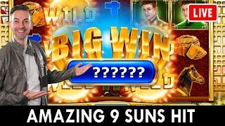 ★ Slots ★ AMAZING 9 Suns HIT ★ Slots ★ The Suns are Shining bright on PlayChumba Casino! #AD