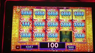 Big Bonus Win Lotteria Lock It Link at Kickapoo Lucky Eagle Casino