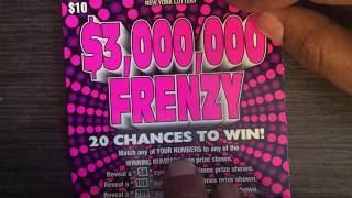 """Frenzy"" scratch off winner"