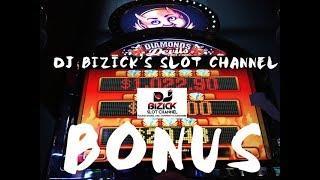 ~$$ BONUS $~ •Diamonds• & •Devils• SLOT MACHINE! • DJ BIZICK'S SLOT CHANNEL
