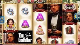 "THE GODFATHER MY DAUGHTER'S WEDDING Video Slot Casino Game with ""BIG WIN"" FREE SPIN BONUS"