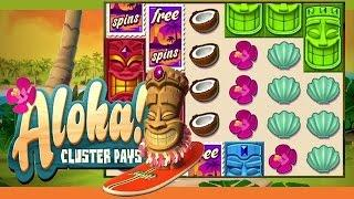 Aloha! Cluster Pays Online Slot from NetEnt