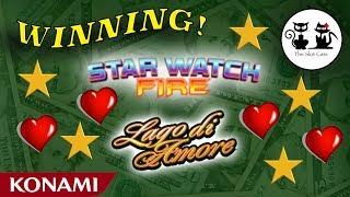 Barona Casino • Star Watch Fire • Lago di Amore •️ The Slot Cats •