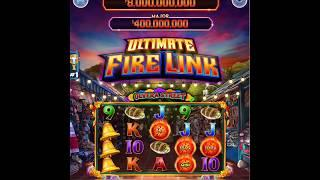 "ULTIMATE FIRE LINK Video Slot Casino Game with an ""EPIC WIN"" FREE LINK BONUS"