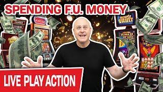 ⋆ Slots ⋆ LIVE HIGH-LIMIT SLOTS ⋆ Slots ⋆ Spending F.U. Money Like It's NOTHING