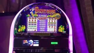 "VGT Slots "" TWO JACKPOTS"" $100 Mr. Money Bags - Polar High Roller & Lucky Ducky Lighting Wilds"
