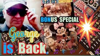 •Scratchcard George..•.BONUS..EXTRA Video•....mmmmmmMMM..says •