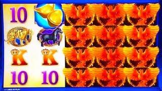 Super Red Phoenix Slot Machine Bonus