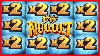 •2 WILD WILD NUGGET •2 INSANE POTENTIAL ON THIS SLOT!