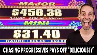 • Chasing Progressives Pays off DELICIOUSLY • But is it worth it?