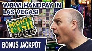 ⋆ Slots ⋆ WOW! Handpay at COSMO LAS VEGAS ⋆ Slots ⋆ MIGHTY CASH Makes Me MIGHTY HAPPY