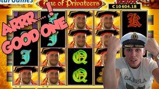 Online Slot - Age of Privateers Big Win and LIVE CASINO GAMES (Casino Slots)
