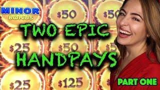 ⋆ Slots ⋆ MASSIVE HANDPAY JACKPOT⋆ Slots ⋆ 2 Epic Slot Machine Jackpots on Dragon Link!
