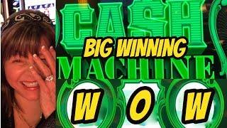 $200  IN CASH MACHINE & CASHING OUT AT WOW!