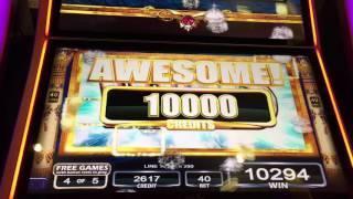 Mega Big Win Flowers of Babylon