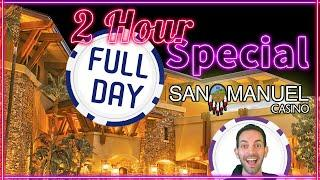 • 2HR Slotiday Special • Learn what Brian plays in a whole day at the Casino! • San Manuel Casino
