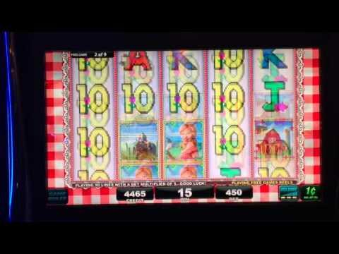 Farmer's Daughter Max Bet Bonus ***Sucky**** ** SLOT LOVER **