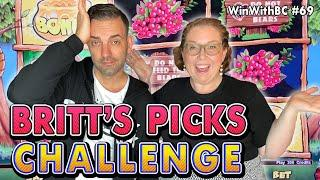 BRITT'S PICKS CHALLENGE with a TWIST ⋆ Slots ⋆ Picking the Games I hate ⋆ Slots ⋆!