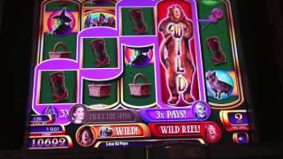 WMS - Wizard of Oz Slot - Borgata Hotel and Casino - Atlantic City, NJ