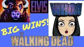 BIG WINS! *Michonne Attack* The Walking Dead | Maltese Fortune | Buffalo Grand | Superman *BONUS*