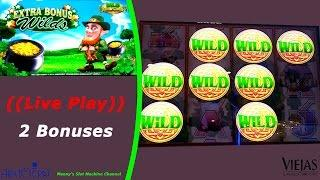 Aristocrat - Wild Lepre'Coins : Live Play and  2 Bonus