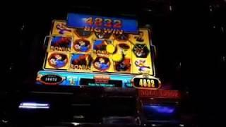 Winning Bid 2 slot machine live play! Streamed live on Facebook live 7/4/2017 at Sands! *Big win*