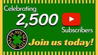 Welcome to Ryan Plays Slots! Join us today!