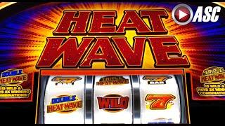 *NEW* HEAT WAVE | WMS - LIVE PLAY&Slot Machine Bonus Feature (25¢)