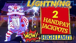 •2 HANDPAY JACKPOTS• High Limit Lightning Link Slot HUGE HANDPAY JACKPOT  | Season 8 | Episode #5