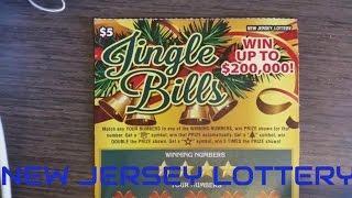 $5 New Jersey Scratch off Jingle Bills