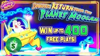++NEW Invaders RETURN from the Planet Moolah slot machine, DBG