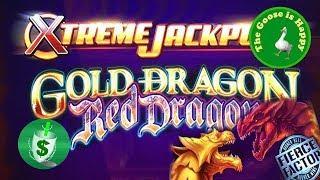 • ++NEW Gold Dragon Red Dragon Xtreme Jackpots slot machine • sasakigs