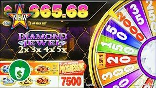 •️ New - Diamond Jewel 2x3x4x5x slot machine, bonus
