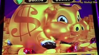 BONANZA BLAST Bet $5.28 Big Win - Rakin' BACON [スロット機] [赤富士スロット] [カジノ] PECHANGA RESORT & CASINO