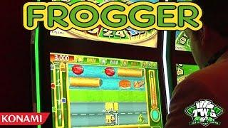 Frogger: Get Hoppin' Casino Skill Game from Konami •