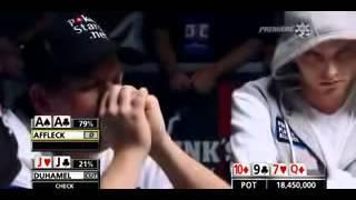 Crushing Hand At The World Series Of Poker (WSOP)