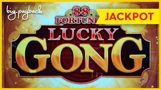 AWESOME JACKPOT HANDPAY! 88 Fortunes Lucky Gong Slot - UP TO $32/SPIN!