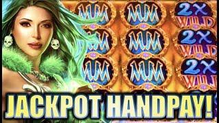 •JACKPOT HANDPAYS!!• MISTRESS OF MAGIC & CLEOPATRA II Slot Machine Big Win Bonus REPOST