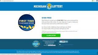MICHIGAN LOTTERY ONLINE PLAYER WINS $315,756 FANTASY 5 LOTTERY JACKPOT PLAYING ONLINE!