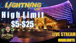 HIGH LIMIT LIGHTNING LINKS! SAHARA GOLD HIGH STAKES! Live Stream Casino Play March 1 2019 Highlights