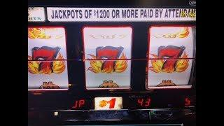 "Jackpot Live ""Handpay Again BLAZING 7"" Max bet $5, Wild Gems $9 Slot & AfterShock $1 Slot San Manuel"