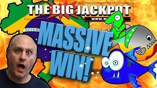 •MASSIVE BRAZIL JACKPOT • LUCKY FISHES FREE GAMES!!! •