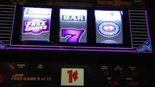 Triple Double Diamond - IGT Slot Machine Bonus Win