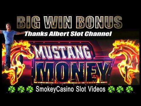 MUSTANG MONEY Slot Machine SUPER BIG WIN (Thanks AL) -$- Ainsworth