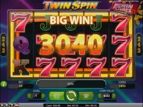 Twin warrior slot machine