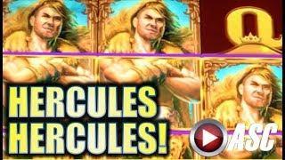 HERCULES! HERCULES! Slot Machine Bonus (WMS G+ Deluxe)
