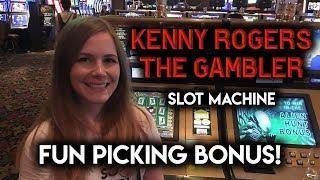The GAMBLER! Slot Machine! BONUS!