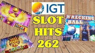 Slot Hits 262 - IGT - Fishing Bob - Wrecking Ball - The Shamus and Friends